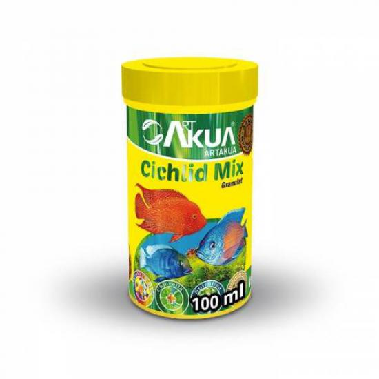 Artakua Cichlid Mix 100 ML 40 Gr Balık Yemi 1,7 MM