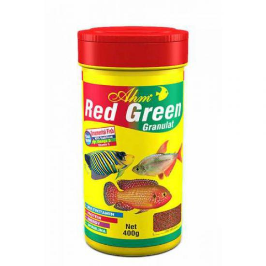 AHM Red Green Gran.100 ml Ciklet yemi