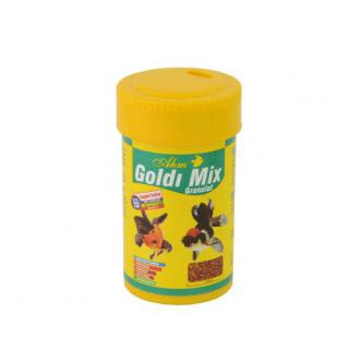 Ahm Goldi Mix Granulat Japon Balığı Yemi 100 ml 50 Gr