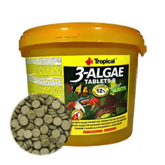 Tropical 3-Algae Tablets Kovadan Bölme 50 Tablet Bitkisel Tablet